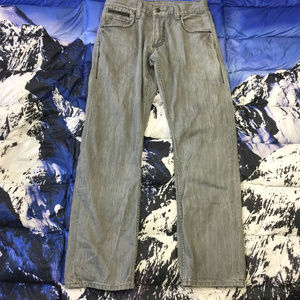 Levi's 514 Gray Slim Straight Fit Jeans Size 30x30